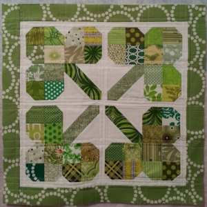 Pillow by @supersara20 using shamrock tutorial by Crafty Planner