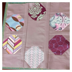 Mod Bee March block by crafty planner