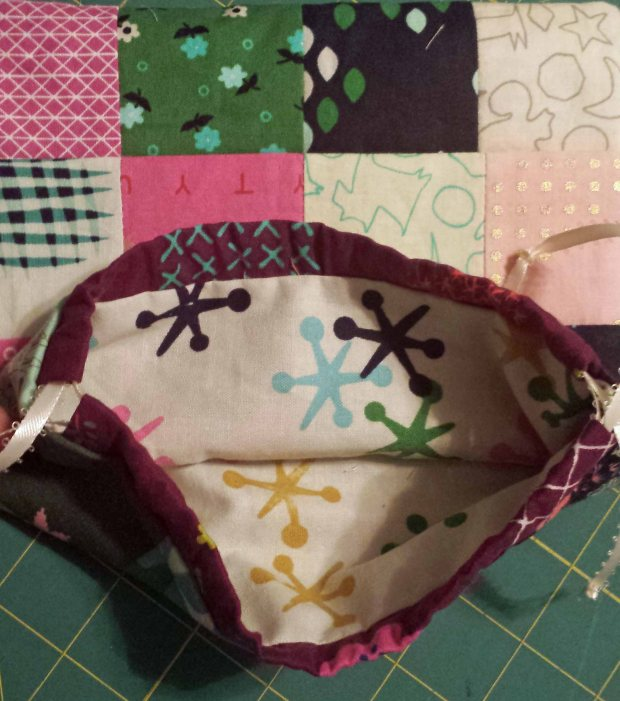 Lining of Pouch by Crafty Planner